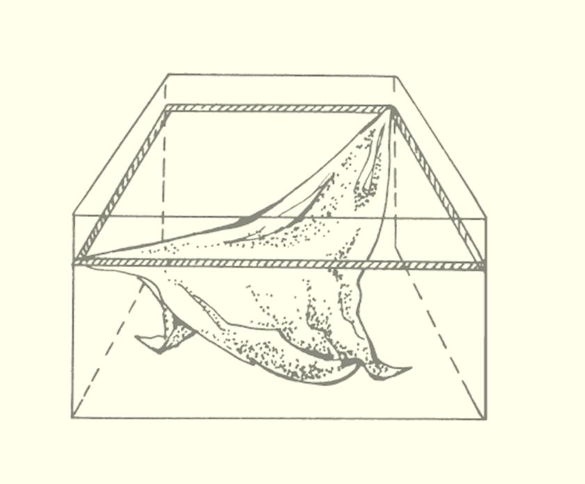 Крепление противоположного по диагонали угла