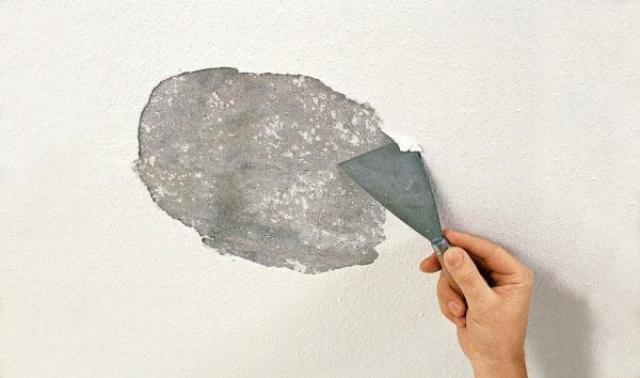 Очистка потолка от штукатурки