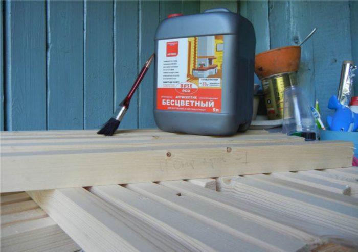 Антисептик для деревянных поверхностей