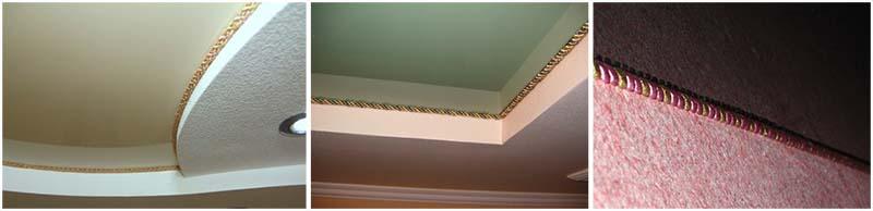 Окантовочный шнур для натяжных потолков