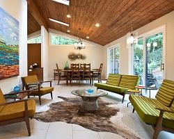 Подшивной потолок из дерева