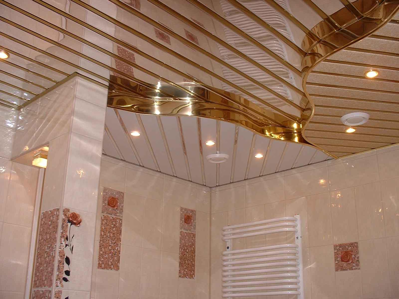 Подвесной потолок в ванну своими руками 47