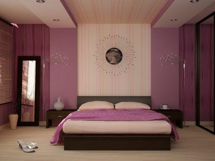 Цвета, благоприятные для спальни