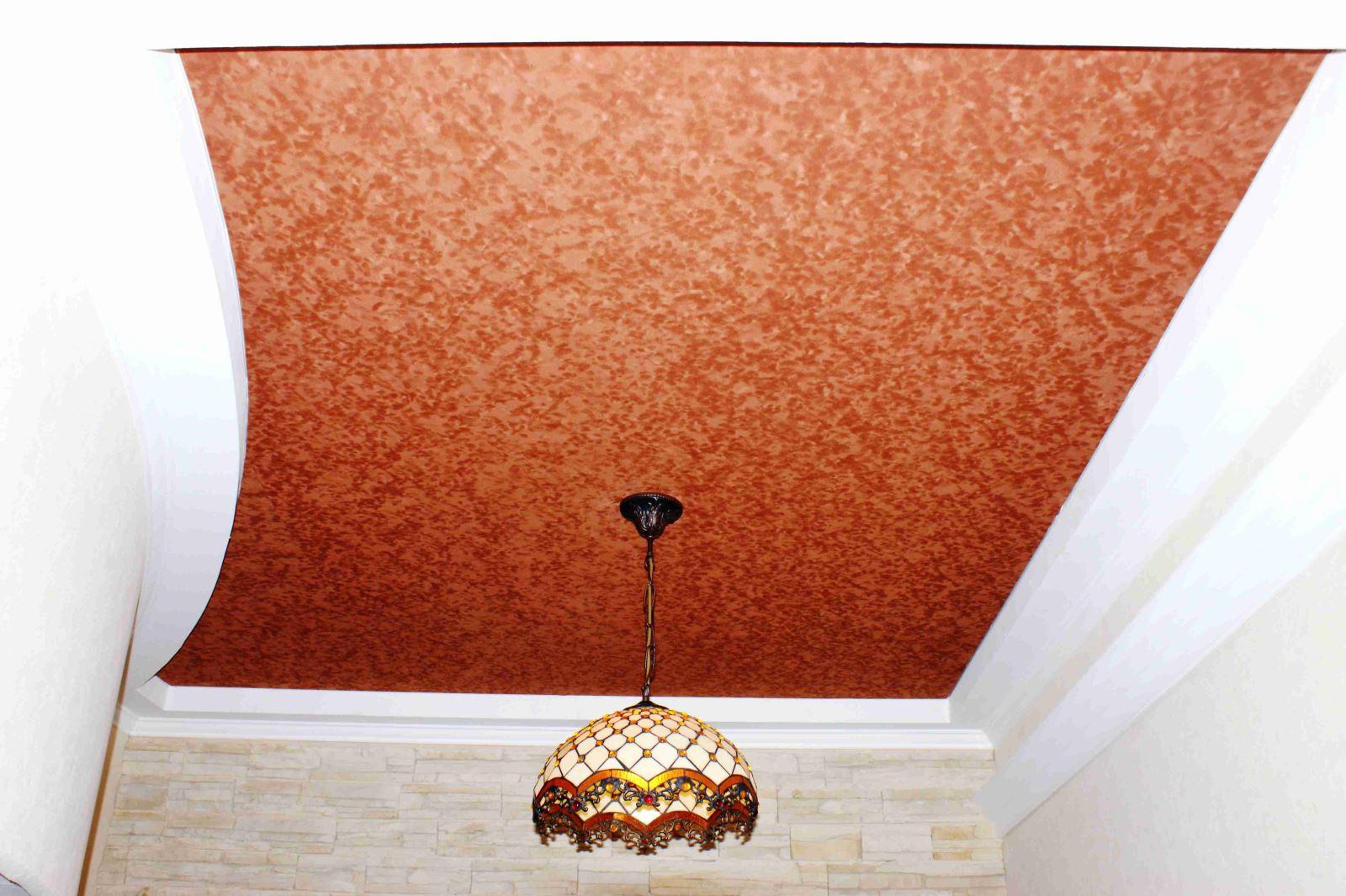 Как сделать бархатный потолок