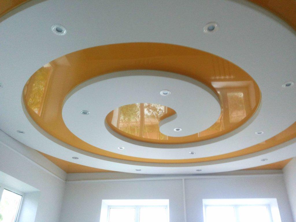 Дизайн фигурных потолков