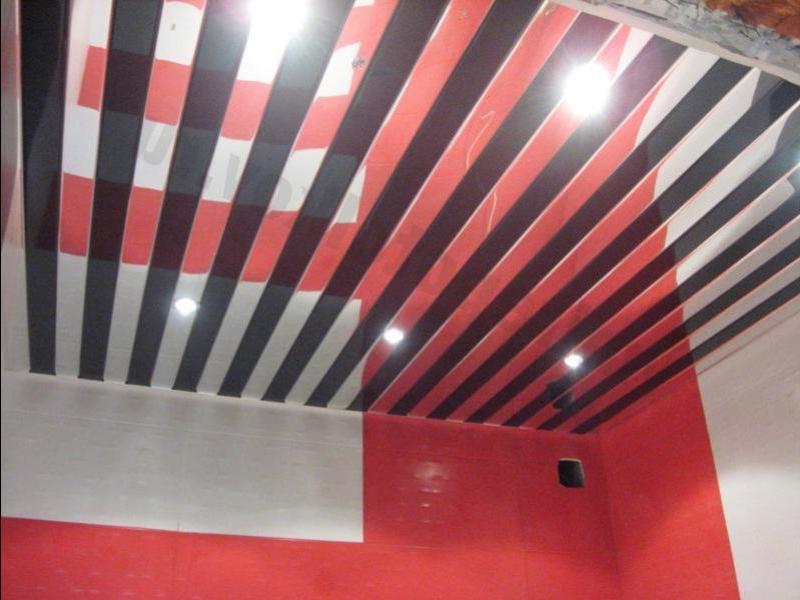 Французский реечный потолок