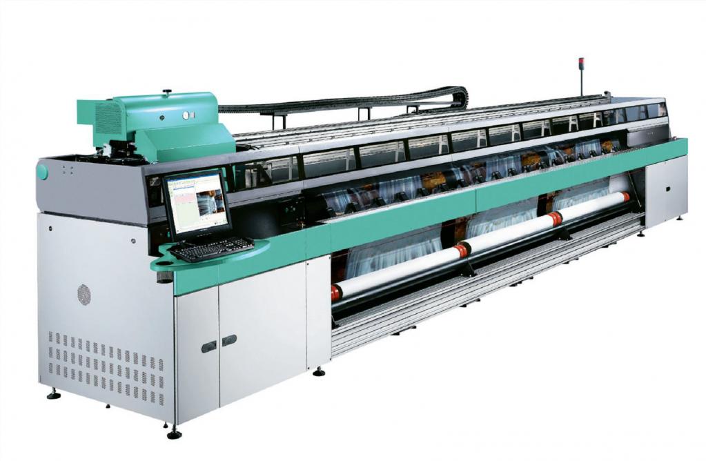 Fujifilm Uvistar II - широкоформатный УФ принтер, предназначенный для высокоскоростной печати наружной рекламы и, конечно, натяжных потолков