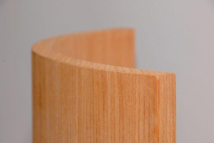 Гнутые МДФ панели, облицованные шпоном