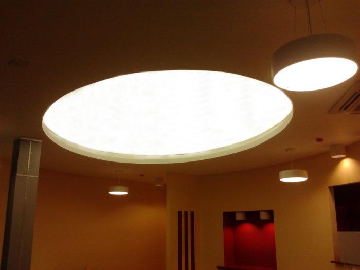 Инновационная подсветка в натяжных потолках