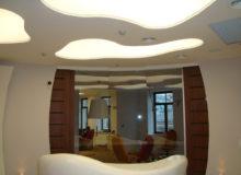 Какие бывают потолки