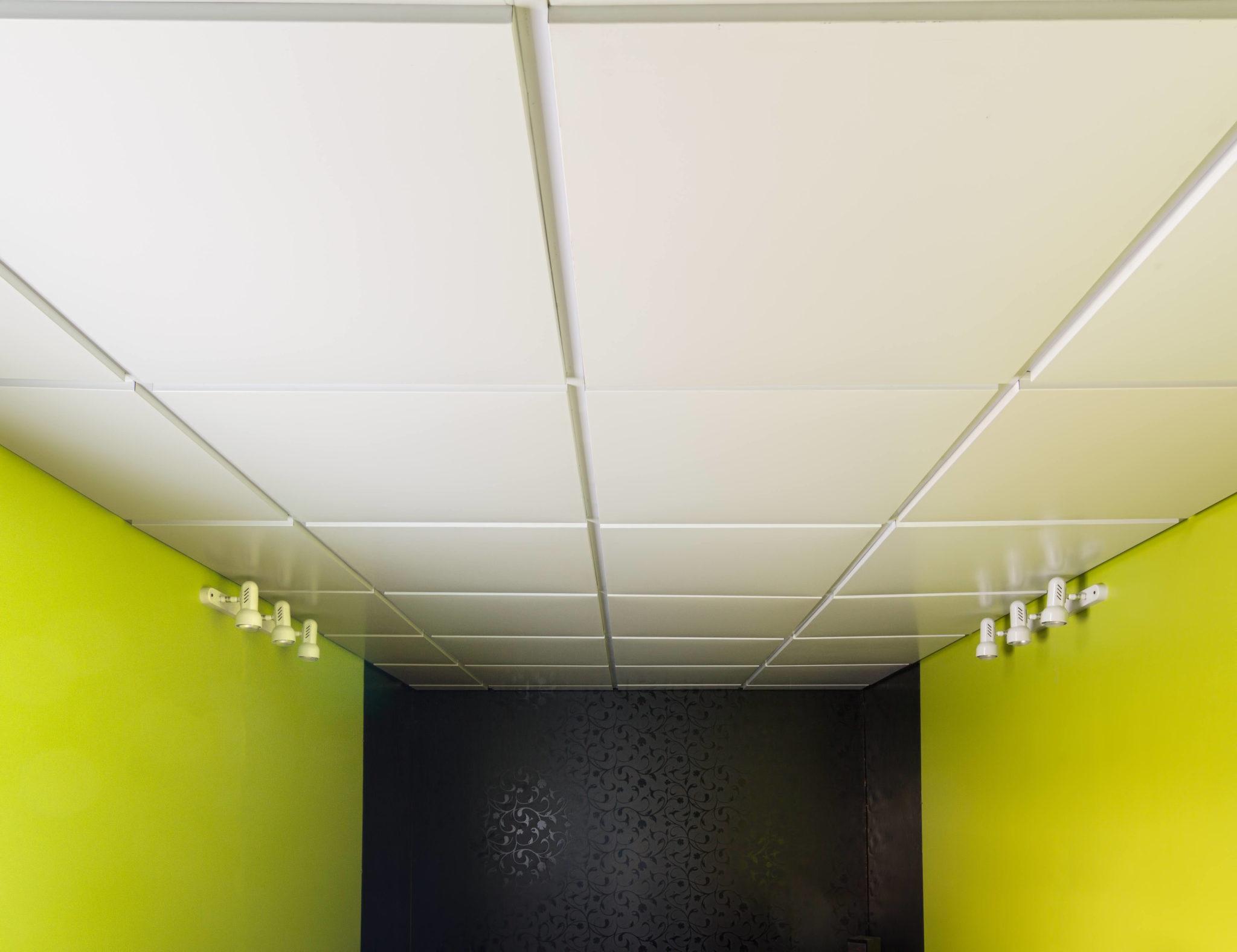 Кассетный потолок RAL 9003