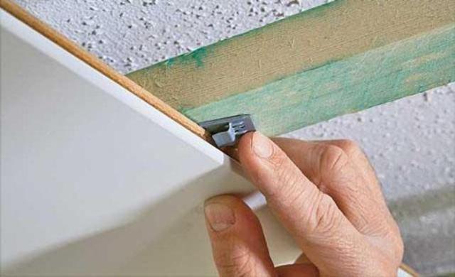 Обшить потолок мдф панелями  видео