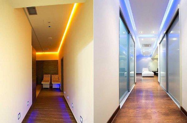 LED-освещение в коридоре