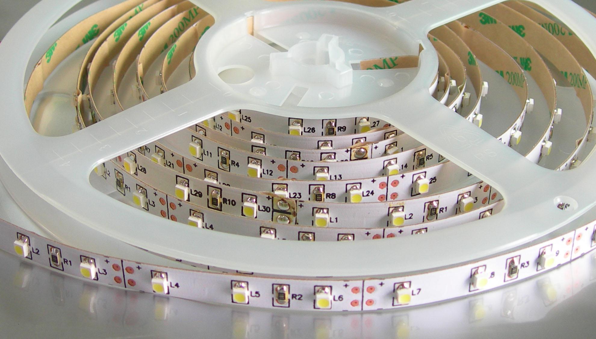 Лента светодиодная 3528 60 LED/M IP20