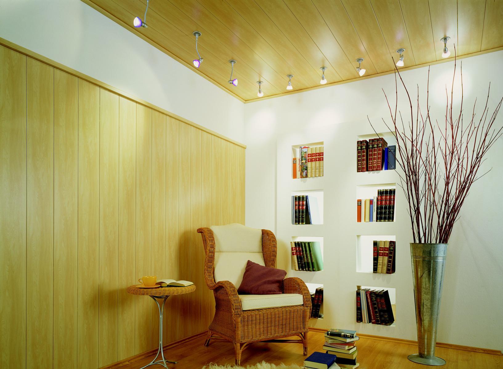МДФ потолок с подсветкой