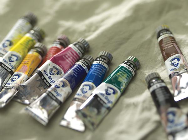 Масляные краски van Gogh от голландской компании Royal Talens