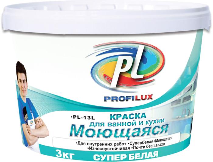 Мастерлюкс Profilux ВД, краска моющаяся для ванной и кухни 14 кг
