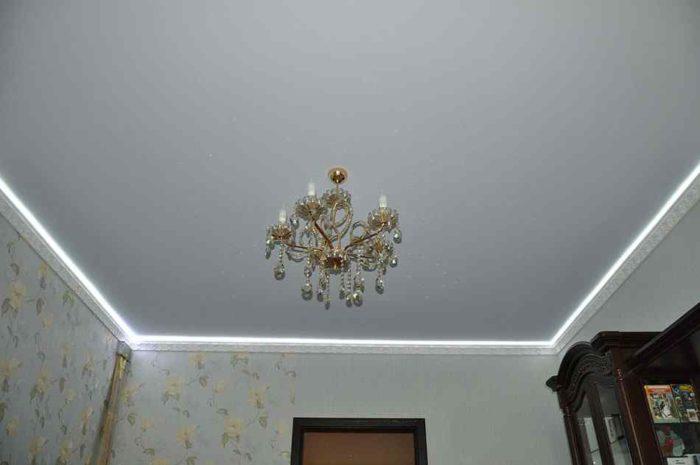 Матовые ПВХ-потолки