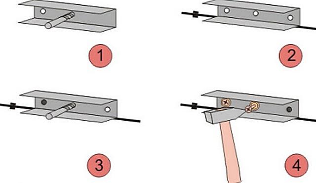 Монтаж профиля для потолка из гипсокартона