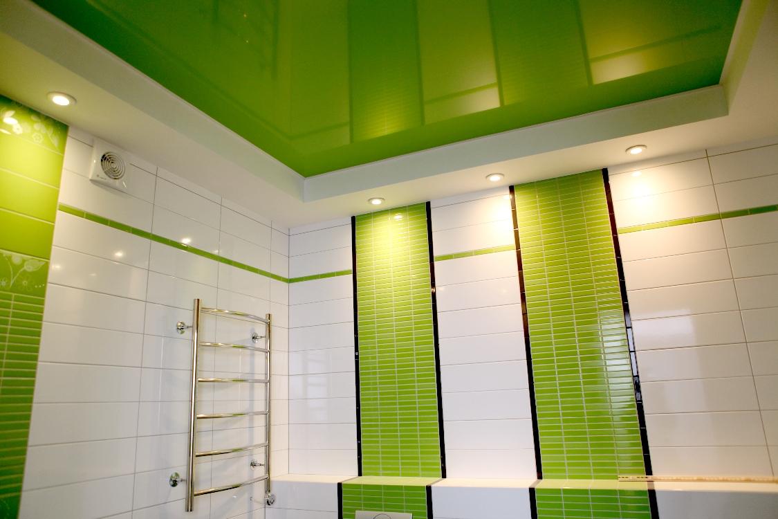 Из чего сделать пластиковый потолок в ванной