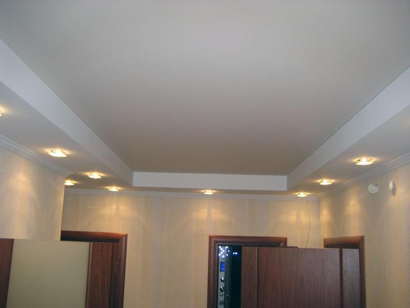 Натяжные потолки матовые