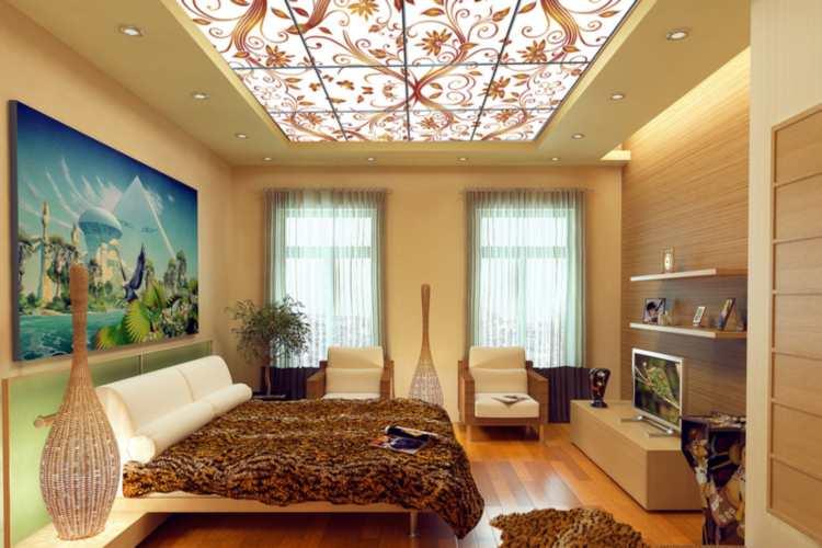Обвораживающие витражные потолки фото