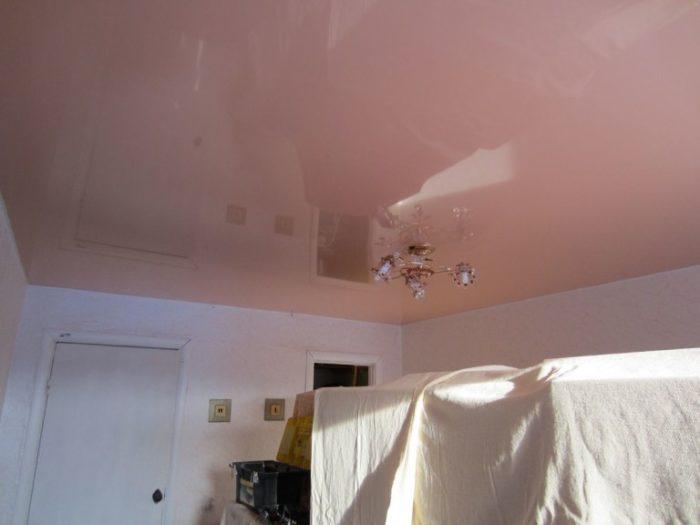Подготовка помещения для демонтажа натяжного потолка