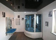 Подвесные потолки для ванной комнаты