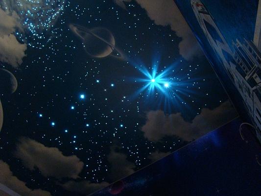 Потолок звездное небо с проектором