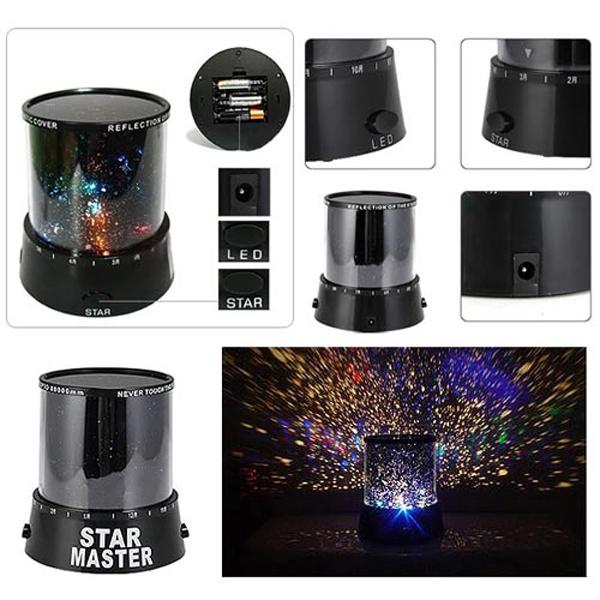 Альтернативный вариант: проектор звездного неба - ночник Star Master (P-9204)