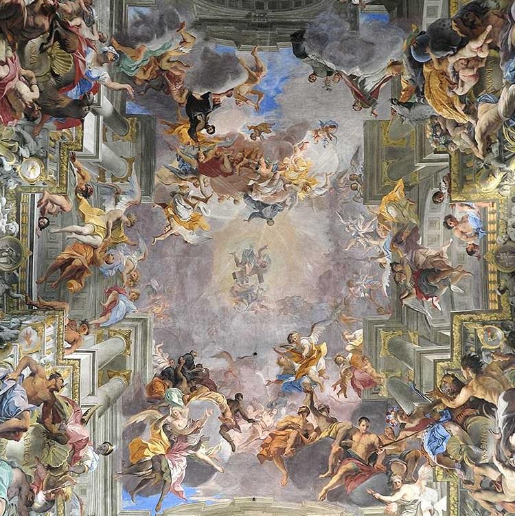 Сант-Иньяцио — барочная церковь ордена иезуитов в Риме, посвященная Игнатию Лойоле, основателю ордена иезуитов, канонизированному в 1622 г