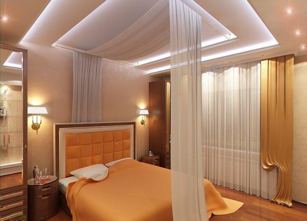 Сказочный потолок из ткани