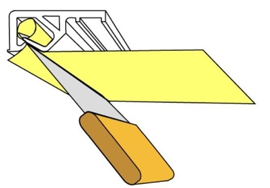 Схема кулачкового крепления