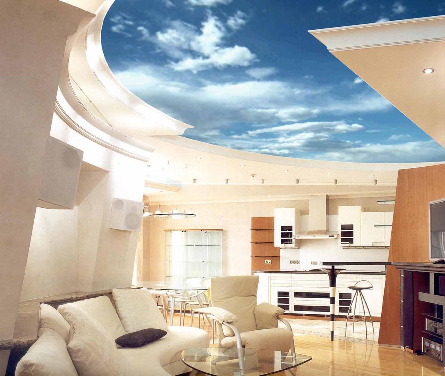 дизайн комнаты с кривым потолком фото осторожны проворачивании
