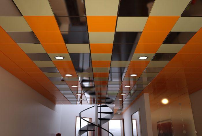 Современный кассетный потолок