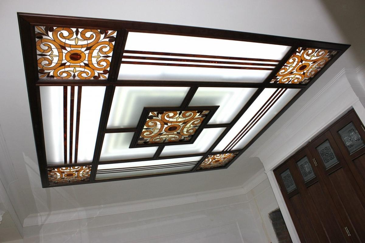 Стеклянные потолки Renovatio