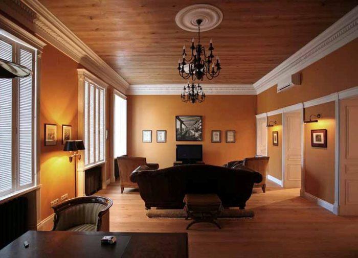 Вагонка на потолок