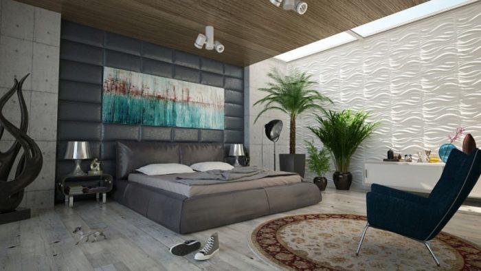 Эргономичное зонирование спальни