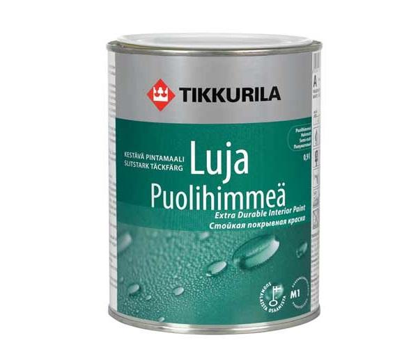 Влагостойкая краска Tikkurila Luja Puolihimmea