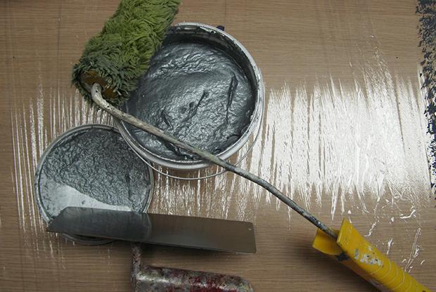 Приготовление штукатурной смеси