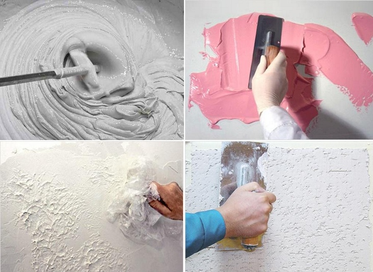 делаем декоративную штукатурку своими руками