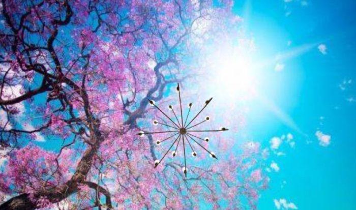 3Д панно с цветущими деревьями добавят в интерьер весеннее настроение